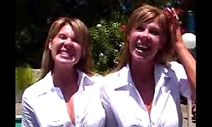 Sisters - Identical Twins - Crystal and Jocelyn fuck and swell up