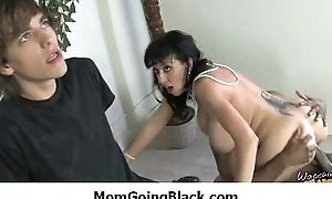 Interracial MILFs and Cougars - Mommy acquiring black cock 1