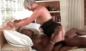 Roasting grandma loves riding a big black