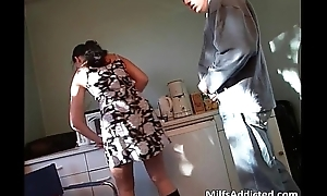 Very hot milf got banged apart from her husband