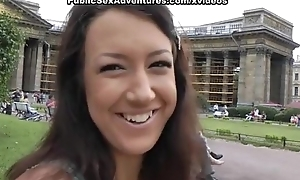 Nasty blowjob in a public place