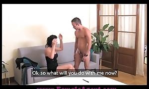 FemaleAgent Cums to command