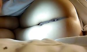 Hong Kong GF ass and pussy fingered