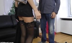 Rocco Siffredi Anally Defiles a Russian Ballerina on a Leash