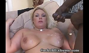 Characterless Wifey In Cuckold Threesome