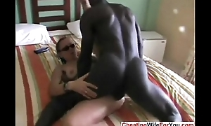 Mature slut squirts with bbc
