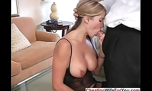 HotWifeRio Busty MILF loves to swallow