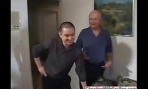 Cuckold wed get fucked