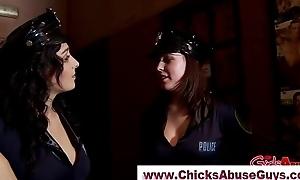 Femdom police brutality babes prepare