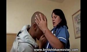 British Amateur Nurse gets Anal Sexual connection Hardcore
