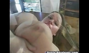 Similar to one another off the brush big tits