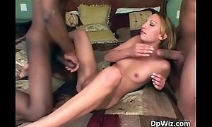 Slanderous blond slut blowing tube