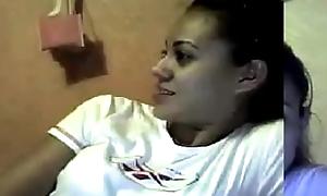 Calentando Putita Mexicana en webcam