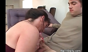 Horrific and horny gloominess cash-drawer blows cock