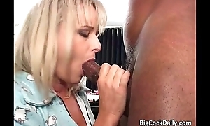 Astounding festival MILF blows big dick