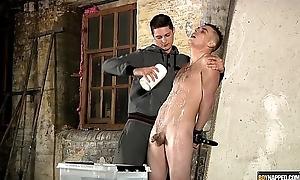 Kenzie Madison tortures and sucks Leo Foxx