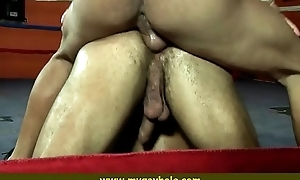 Ripped muscle studs in hot flip fuck 3