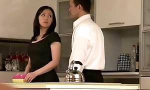 Japanese milf girl possessions it superior to before