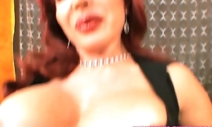 Hot Redhead Latin babe Mommy Likes That Young Cock