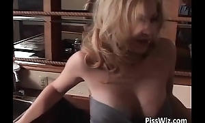 Gorgeous busty neonate acquires her wet cock