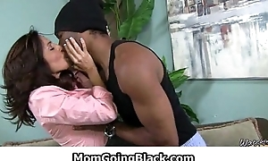 MomGoingBlack.com - Milf Interracial Making love - Hardcore heavy cock fucking 30