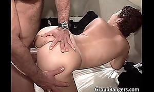 Horn-mad MILF'_s found young boys for round