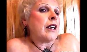 Very sexy grandma has a soaking soaked pussy