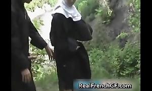 frenchgfs as nun