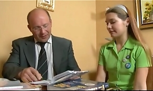 young legal age teenager cute russian girl and cur' teacher. beloved fist time porn.