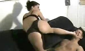 Mistress Tiffany give trampling readily obtainable