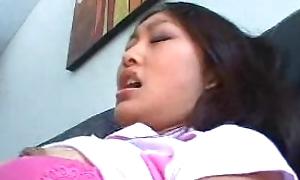 Oriental Girl gets fucked