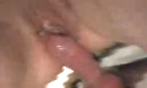 Gloryhole shacking up a strangers cock curry favour with he cums inside me
