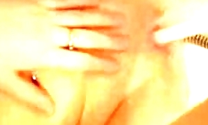 Emo lean in bathtube