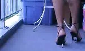 Crossdressing in Heels