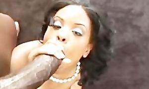 Amazing Black Porsnstar Olivia Winters Full POV Sex