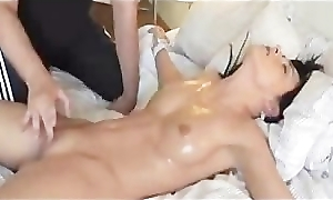 Girl Tied Thither and Fingered