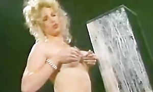 HOT blonde squirts milk hard from tits
