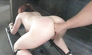 Sexual Anal Torture For A Busty Slut