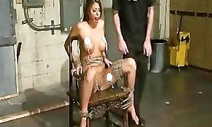 Nude Bondage and Hogtie