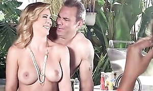 Nudist parents enticed and fucked their son's boyfriend