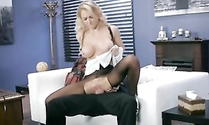 Whorish live-in lover is getting fucked through the gap back her hose