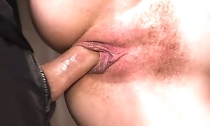 Submissive young girl with incompetent tits gets pressed in brutal XXX scene