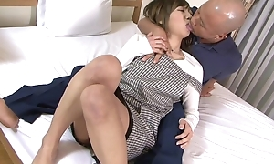 Asian housewife gets properly fucked by her retrench