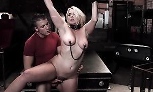 Chubby kermis catholic gets tied up and fucked by her stepson