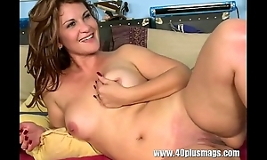Creamy housewife muff fucked