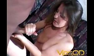 Cum On Tits Handjob
